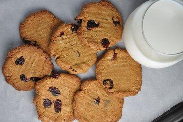 Самое лучшее полезное хрустящее нутовое печенье без муки и без глютена