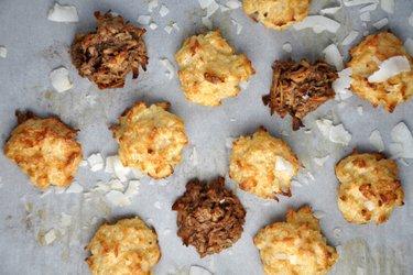Полезное миндально-кокосовое печенье