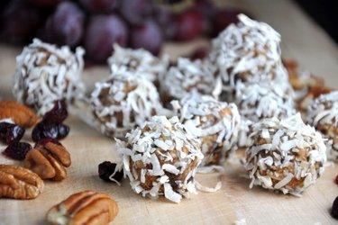 Полезные имбирные шарики (без глютена, без сахара)