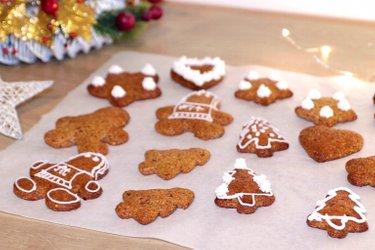 Протеиновое имбирное печенье без муки