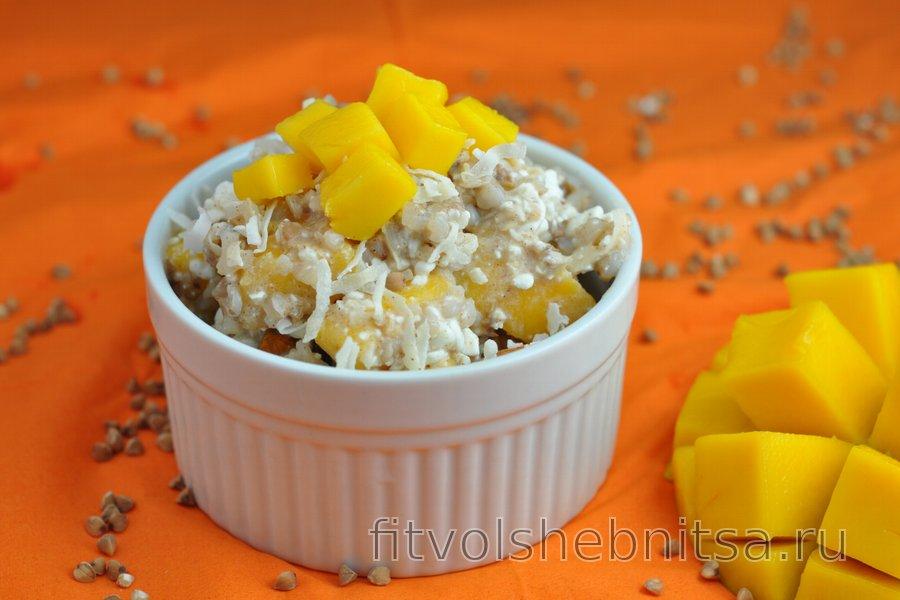 Полезный салат с манго