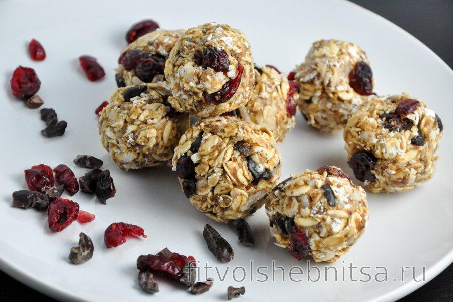 Фитнес-рецепт питательных шариков к завтраку