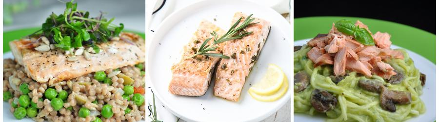 Рецепты полезных салатов из лосося