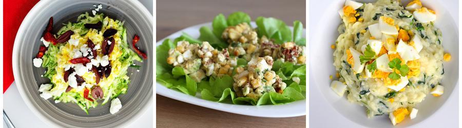 Полезные рецепты салата из яиц