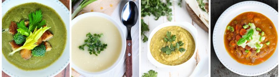 Супы с высоким содержанием белка