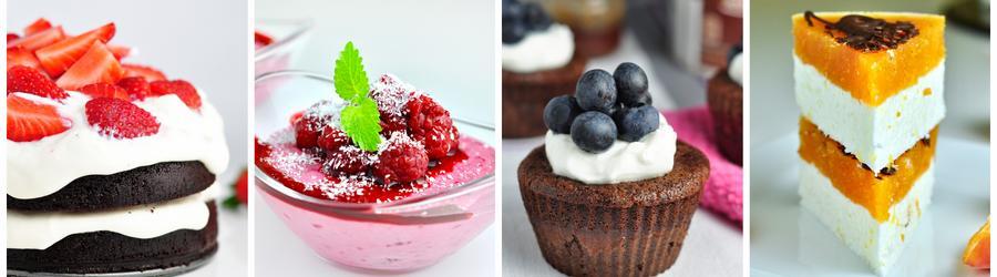 Рецепты десертов пониженной жирности