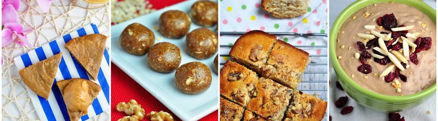 Полезные рецепты десертов с арахисовым маслом