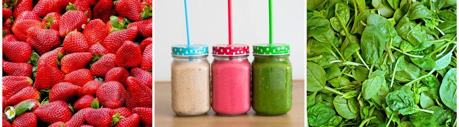 Полезные смузи и напитки с высоким содержанием клетчатки