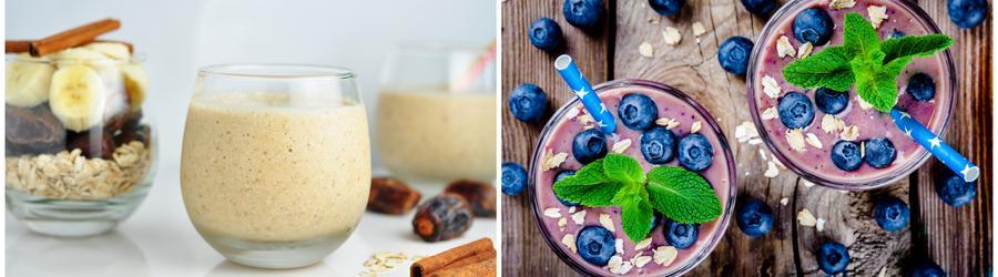 Рецепты смузи и напитков с высоким содержанием белка