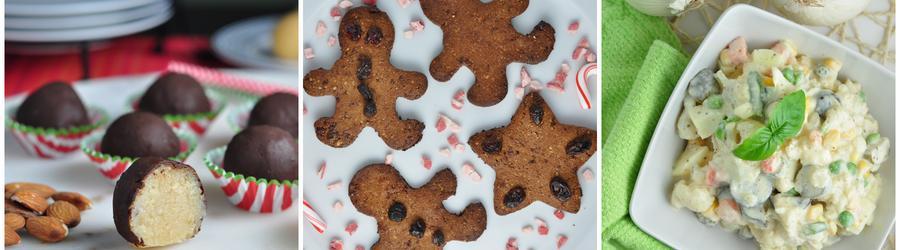 Полезные праздничные и рождественские рецепты без глютена