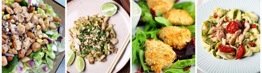 Рецепты из курицы с низким содержанием жиров