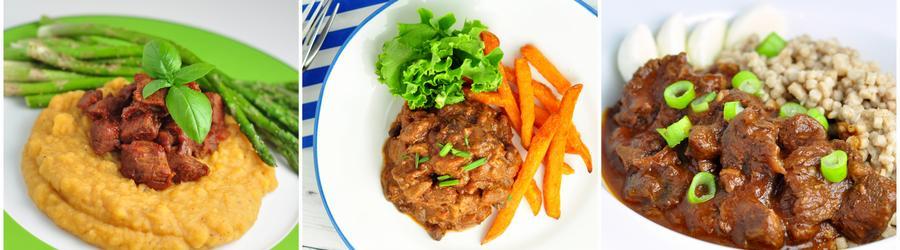 Рецепты из говядины с низким содержанием жира
