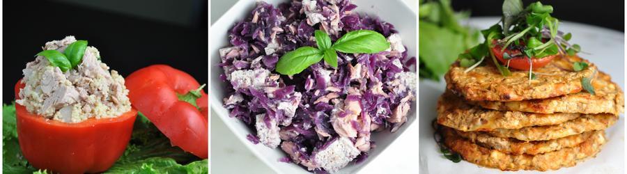 Низкокалорийные рецепты из тунца для похудения