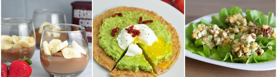 Рецепты с авокадо с высоким содержанием белка