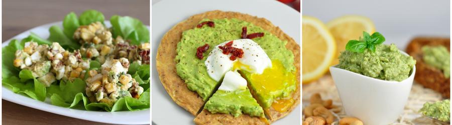 Рецепты с авокадо с низким содержанием углеводов