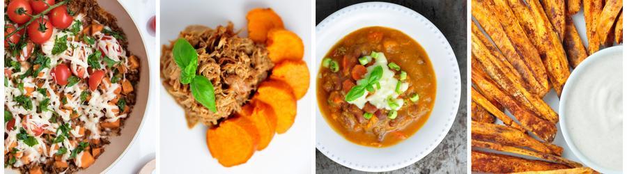 Рецепты низкокалорийных блюд из сладкого картофеля для похудения