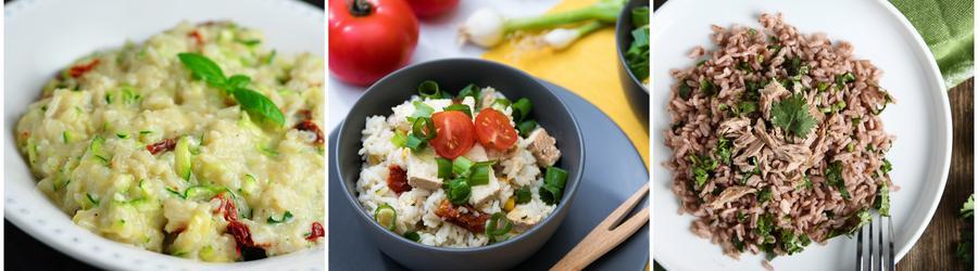 Рецепты из риса с высоким содержанием белка
