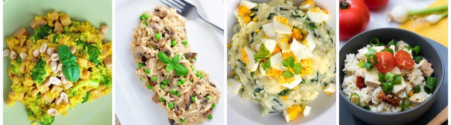 Рецепты из риса без глютена