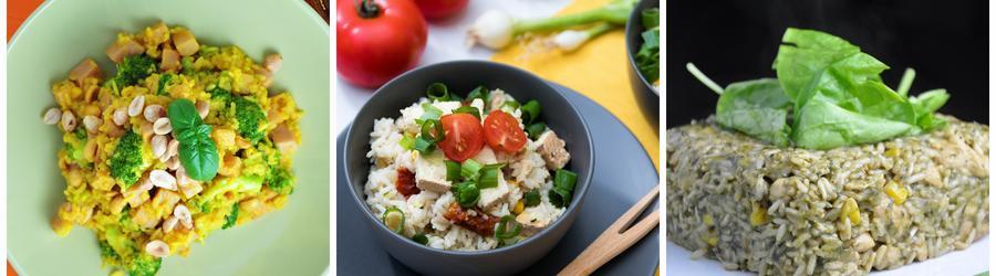 Полезные веганские рецепты из риса