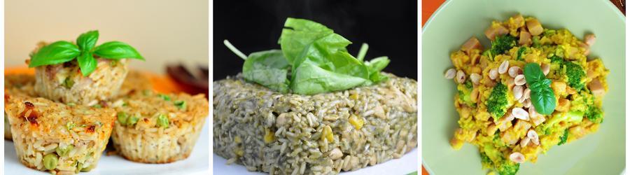 Рисовые рецепты с низким содержанием углеводов