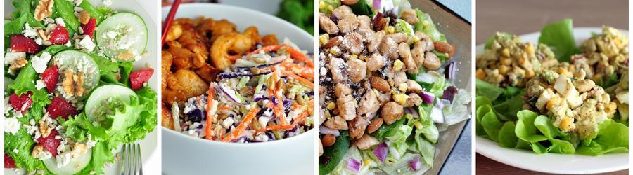 Полезные рецепты салатов с фото