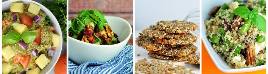 Полезные вегетарианские  рецепты из квиноа