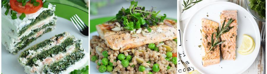 Рецепты из лосося с высоким содержанием белка