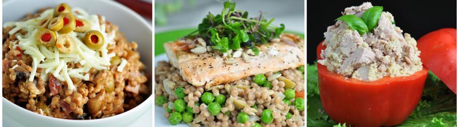 Рецепты кускуса с высоким содержанием белка