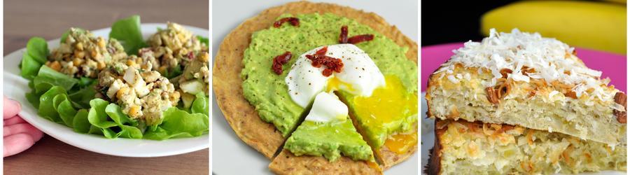 Полезные рецепты из яиц без глютена