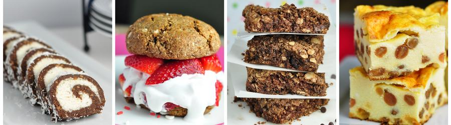 Рецепты полезных десертов и тортов