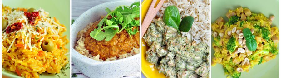 Полезные рецепты блюд из риса с фото