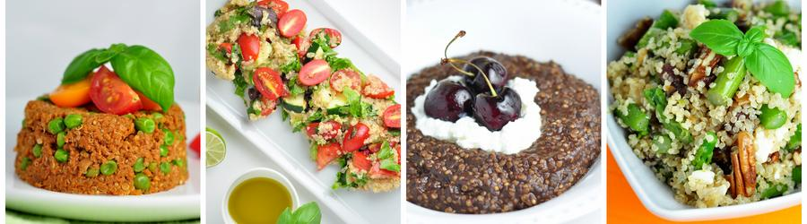 Полезные рецепты блюд из квиноа
