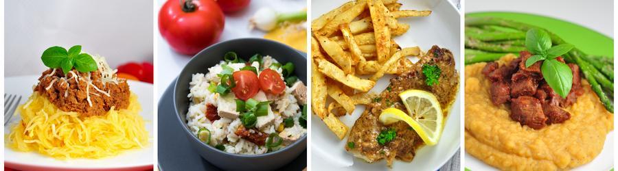 Полезные рецепты ланча и обеда без глютена