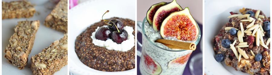 Полезные рецепты завтраков с семенами чиа