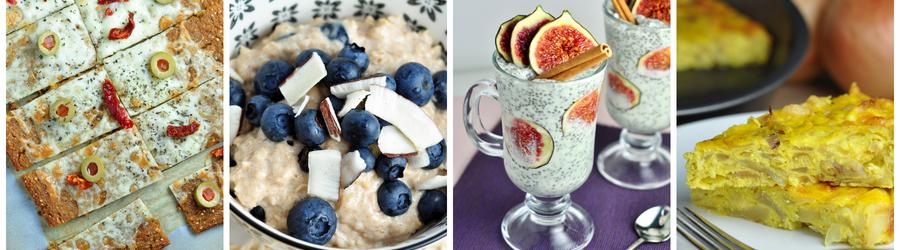 Полезные рецепты завтраков без глютена