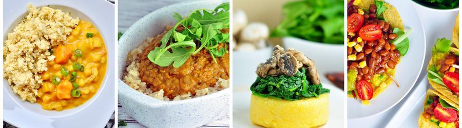 Полезные веганские рецепты для обеда и ужина