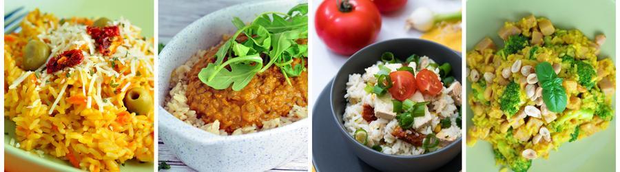 Полезные рецепты риса на обед и ланч