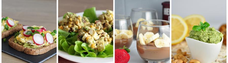 Полезные рецептов с авокадо на завтрак
