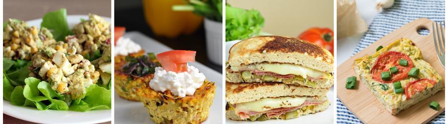 Рецепты белковых завтраков с фото