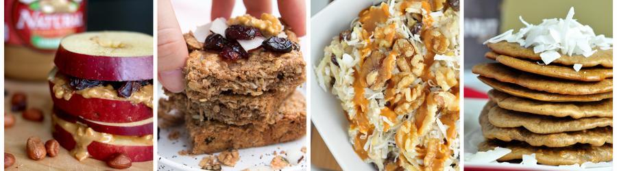 Полезные рецепты завтраков из арахисового масла