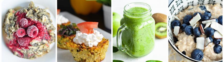 Диетический завтрак - рецепты для похудения