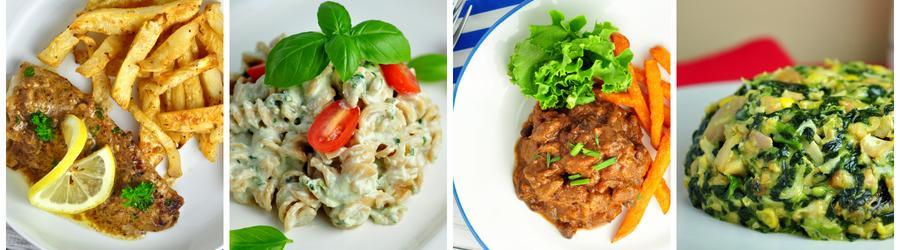 Рецепты ланча и обеда с высоким содержанием белка