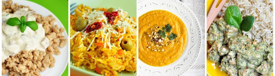 Рецепты низкожирных блюд для ланча и обеда