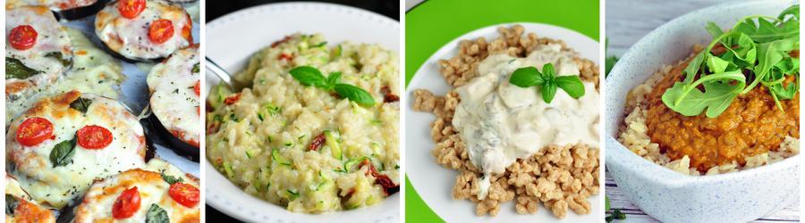 Рецепты вегетарианских блюд для ланча и обеда