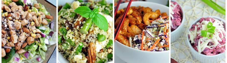 Рецепты салатов с высоким содержанием белка
