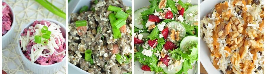 Рецепты низкокалорийных салатов для снижения веса