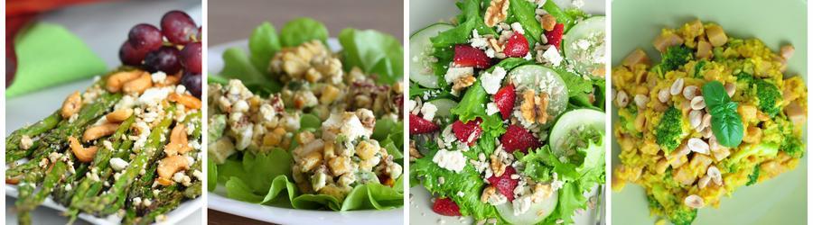 Низкоуглеводные салаты – рецепты с фото
