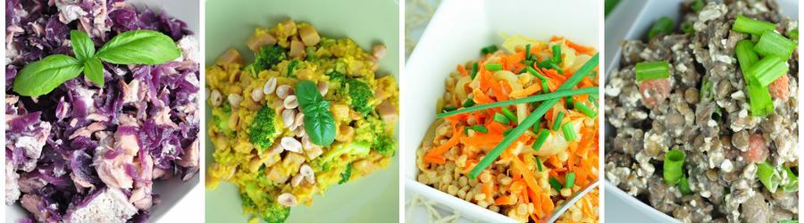 Рецепты низкожирных салатов