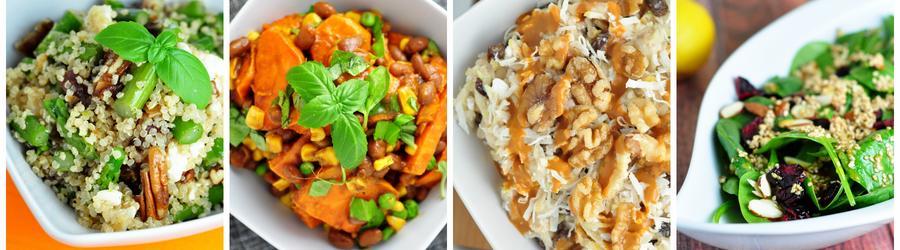 Рецепты полезных веганских салатов