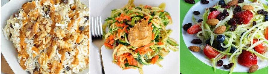 Полезные рецепты салатов из цуккини